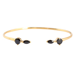 FLING BLACK AND GOLD CUFF