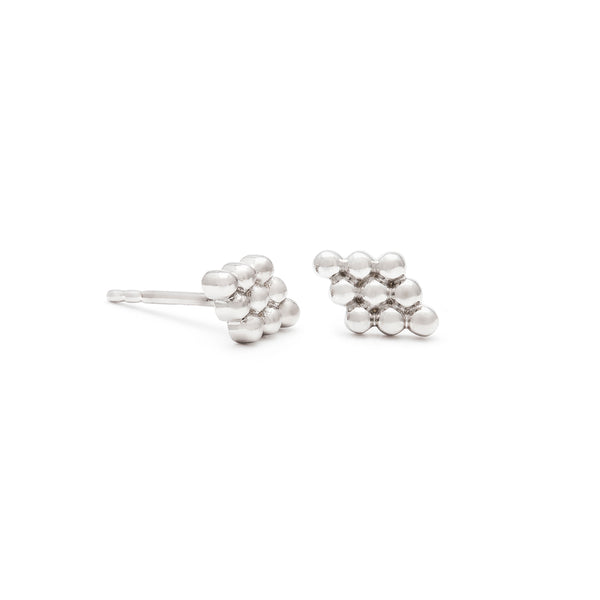 leah alexandra sterling silver florence studs