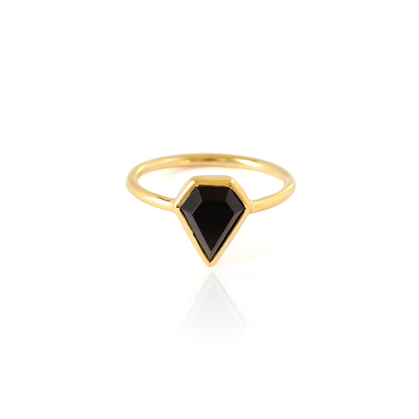 Gem Ring | Black Onyx