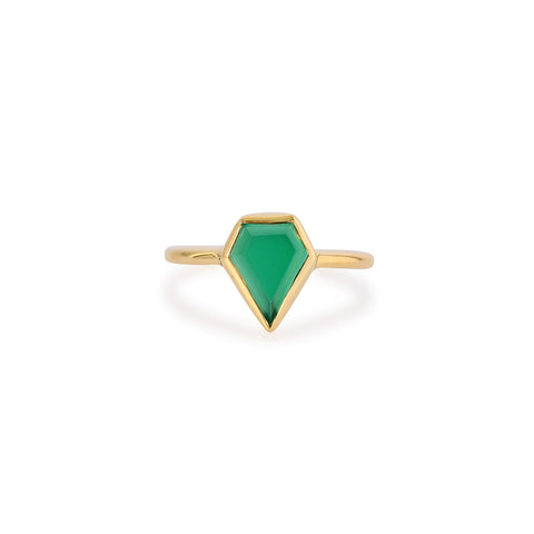 GEM RING GREEN ONYX
