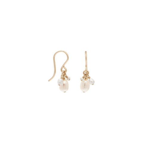 Isabel Earrings | Pearl