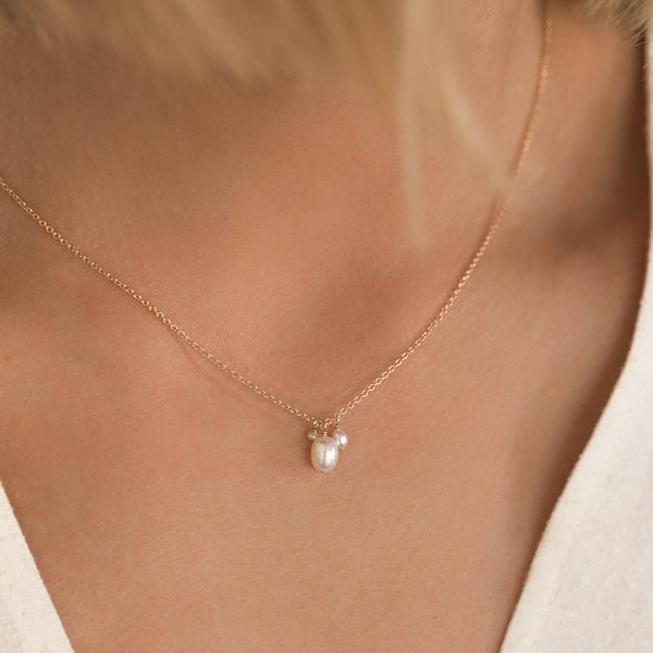 Isabel Necklace | Pearl