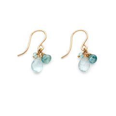 ISABEL AQUAMARINE EARRINGS