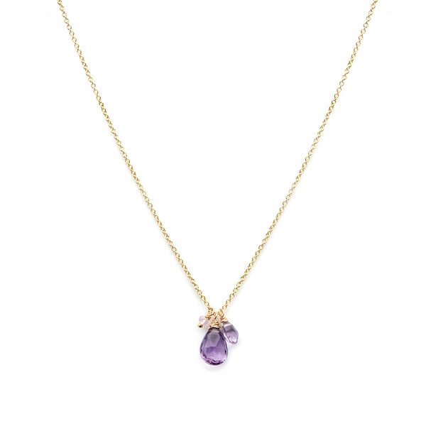 Isabel Necklace | Amethyst