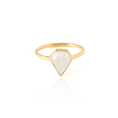 Moonstone Gem Ring