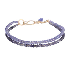 Liberty Bracelet Tanzanite and Iolite