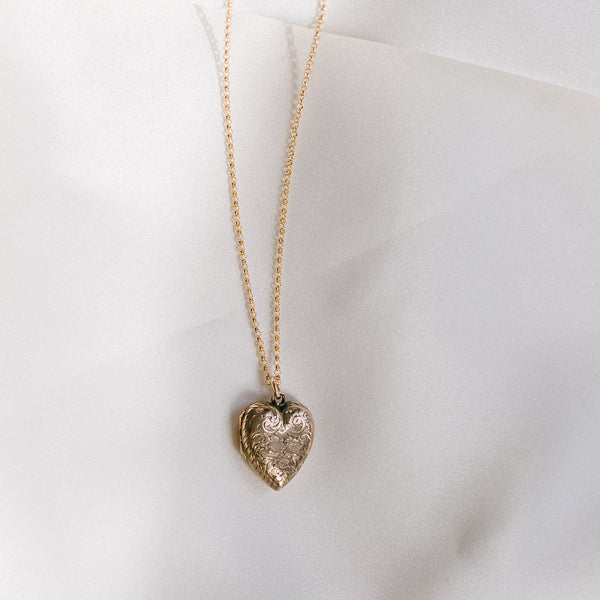 Antique Heart Locket - 227