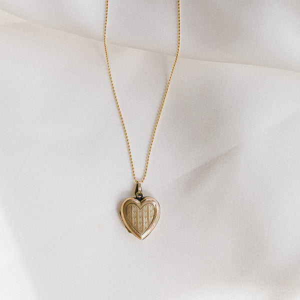 Antique Heart Locket - 228