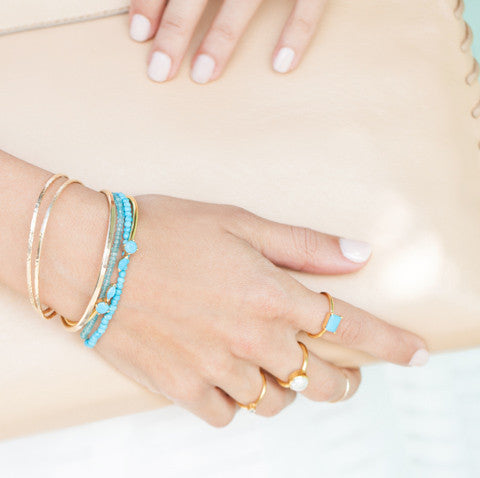 Fling Turquoise Cuff