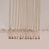 Leah Alexandra 14k gold birthstone necklaces