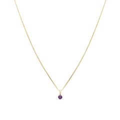 Element Necklace | Amethyst