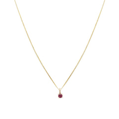 Element Necklace | Ruby