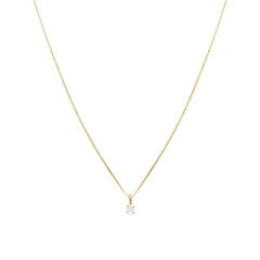 Element Necklace | White Sapphire