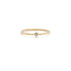 Element Ring | 14k Gold & Diamond