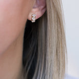 Leah Alexandra moonstone gold bijou earrings studs