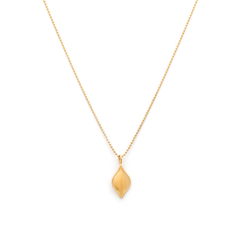 Leah Alexandra gold lazio necklace