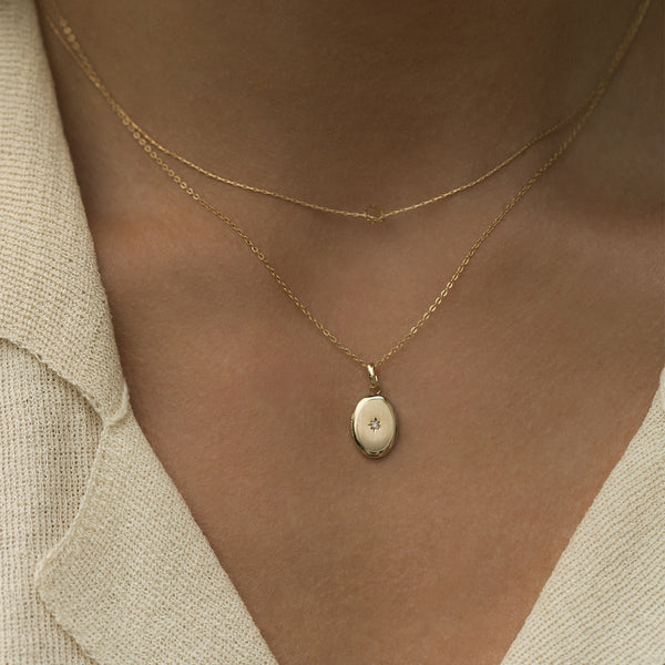 Leah Alexandra delicate layering necklace knot necklace gold filled