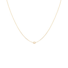Knot Necklace | Gold