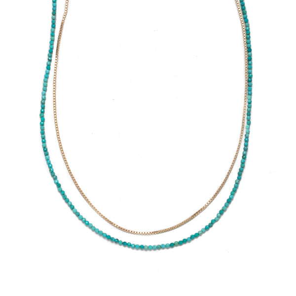 Liberty Turquoise Necklace