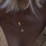 Love Token Necklace - Square