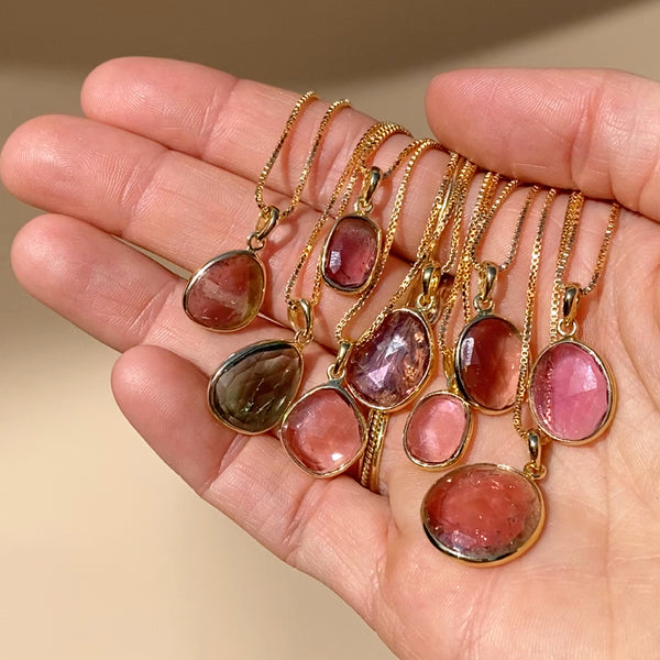 One of a Kind Necklace | Tourmaline