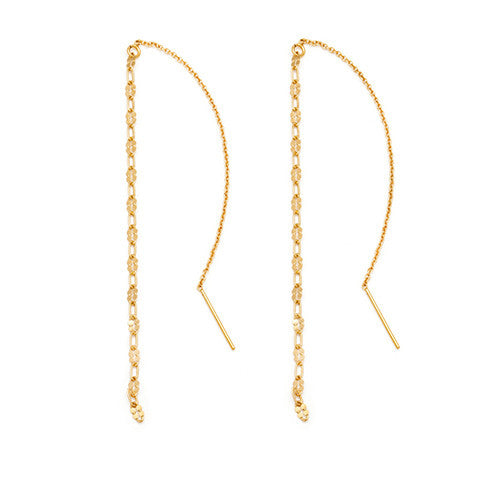 Oro Threader Earrings