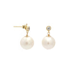 Pila Earrings | Pearl