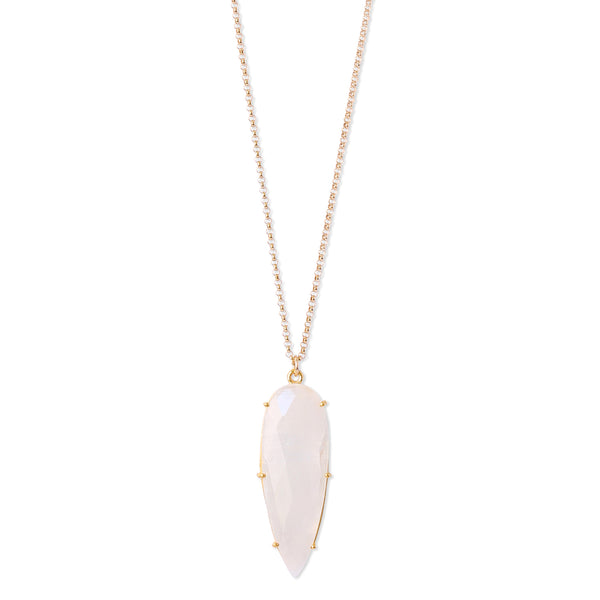 PRISM MOONSTONE NECKLACE