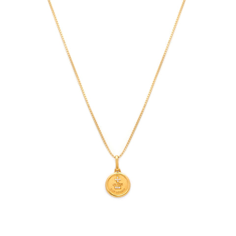 Love Token Necklace - Round