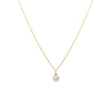 14K Gold Rosecut Diamond Necklace