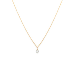 Petite Rosecut Necklace | Diamond