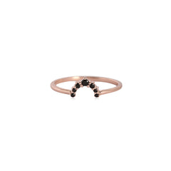 Rainbow Ring | Rosegold