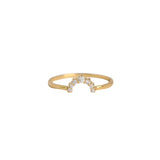 Leah Alexandra Rainbow Ring