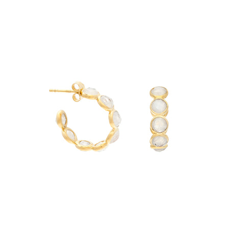 Sola Earrings | Pearl