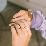 Stellar Band Ring | Gold