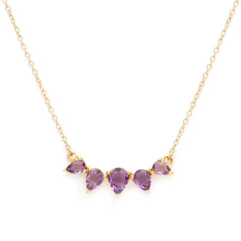 Sunny Necklace | Amethyst