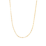 Shimmer Necklace | 10k Gold