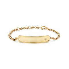 Signature Chain Bracelet | Gold