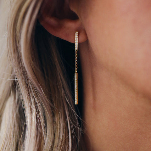 Slim Stick Earrings