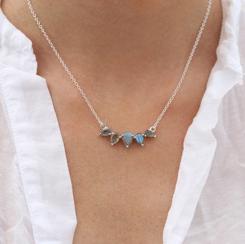 leah alexandra sterling silver labradorite sunny necklace