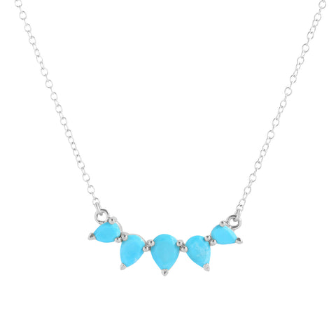Sunny Necklace | Turquoise