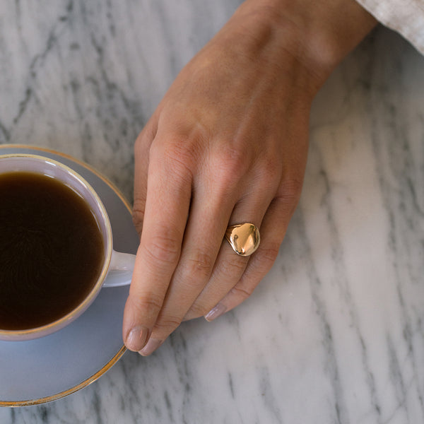 Traverse Ring | 14k Gold