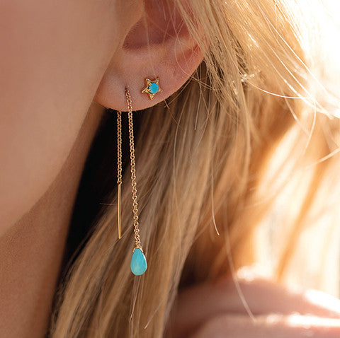 Star Studs | Turquoise