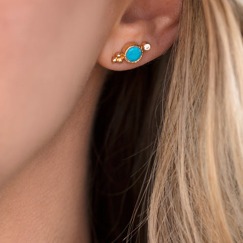 Todos Studs | Turquoise