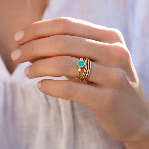 Todos Turquoise Ring