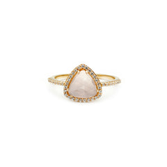 Trielle Ring | Rose Quartz