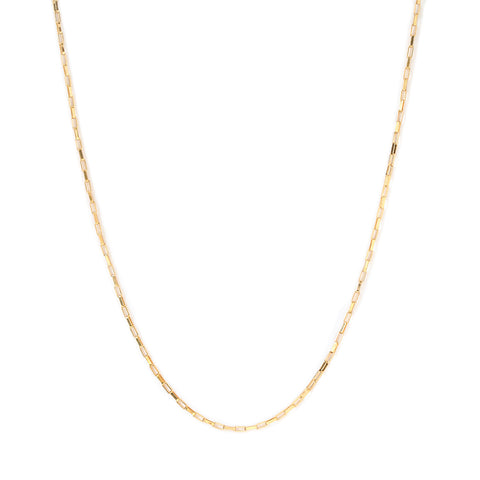 leah alexandra venetian chain gold filled layering chain