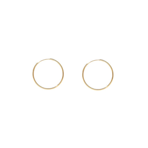 Airlight Hoops | Gold