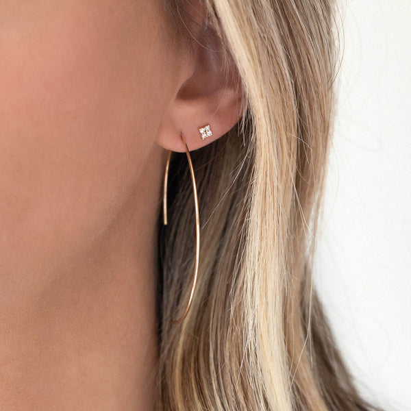 Arch Earrings | Gold