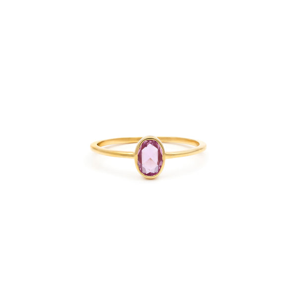 Audrey Ring | Pink Sapphire